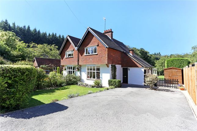 Thumbnail Semi-detached house for sale in Chilcrofts Cottages, Chilcrofts Road, Kingsley Green, Haslemere, Surrey
