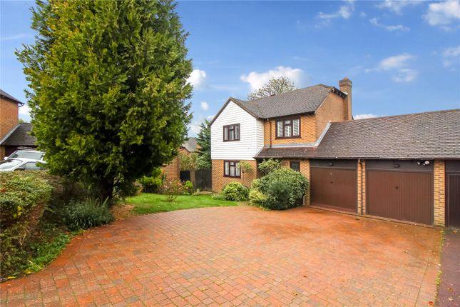 Thumbnail Detached house for sale in Fagus Close, Walderslade Woods, Kent