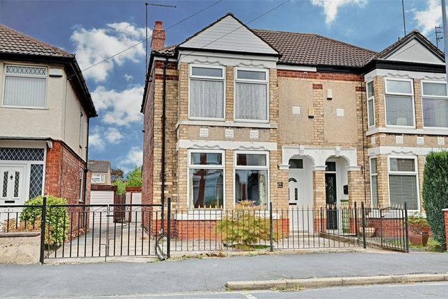 Thumbnail Semi-detached house for sale in Ellesmere Avenue, Hull