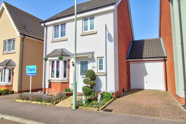 Thumbnail Link-detached house for sale in Osprey Drive, Stowmarket