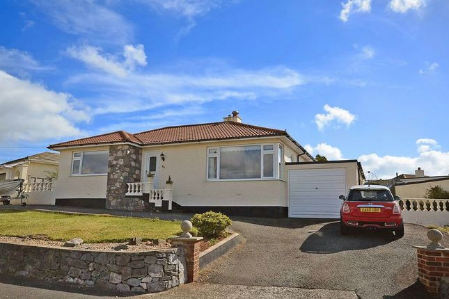 Thumbnail Bungalow for sale in Blue Waters Drive, Broadsands, Paignton.