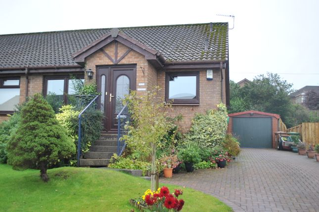 Thumbnail Semi-detached bungalow for sale in Pirleyhill Drive, Shieldhill, Falkirk