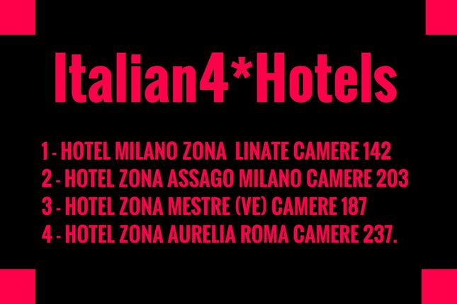 Thumbnail Hotel/guest house for sale in Linate, Milan City, Milan, Lombardy, Italy