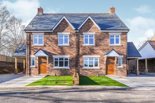 Thumbnail Semi-detached house for sale in Hatters Close, Warrington, Cheshire