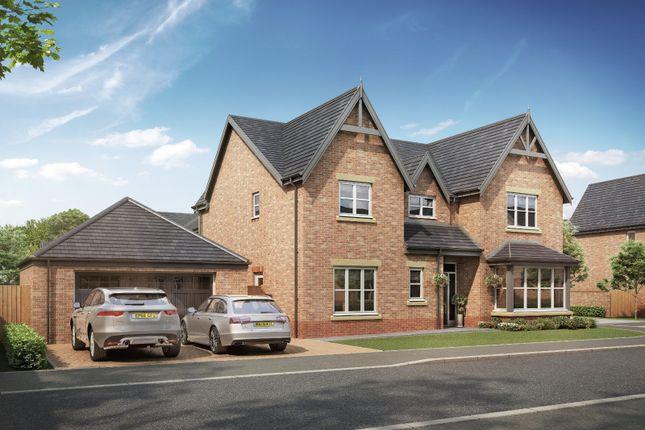 Thumbnail Detached house for sale in Medburn Park, Medburn Village, Newcastle Upton Tyne