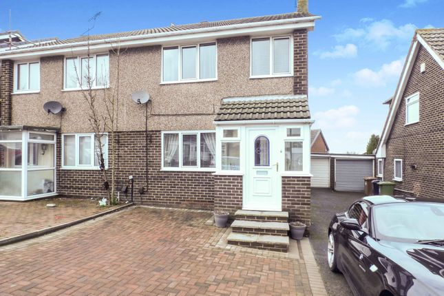 Thumbnail Semi-detached house for sale in Symington Gardens, New Silksworth, Sunderland