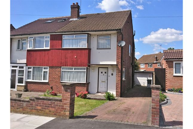 Thumbnail Semi-detached house for sale in Ferndale Crescent, Uxbridge