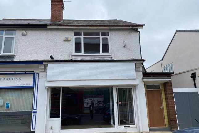 Thumbnail Retail premises for sale in 707 & 707A Bristol Road South, Northfield, Birmingham