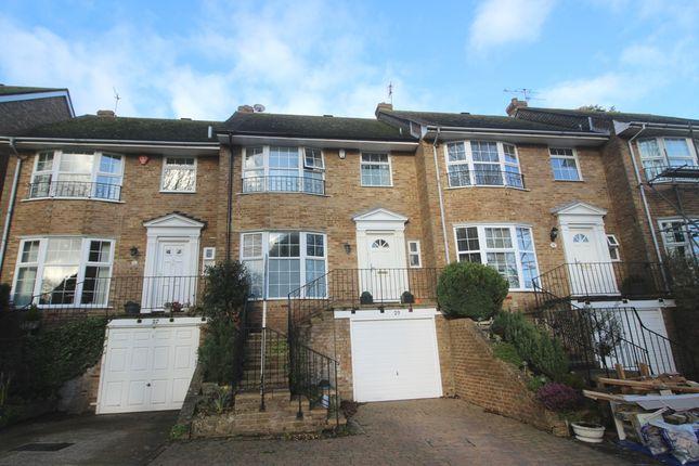 Thumbnail Terraced house for sale in Beechwood Crescent, Summerdown, Eastbourne