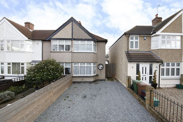 Thumbnail Semi-detached house for sale in Harborough Avenue, Sidcup