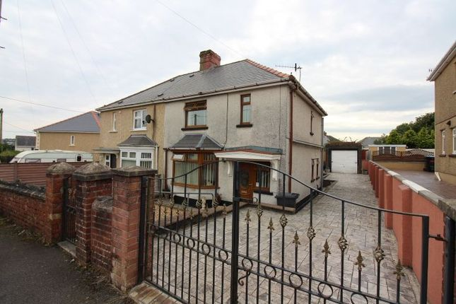Thumbnail Semi-detached house for sale in Twyn Star, Dukestown, Tredegar