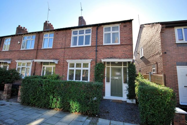 Thumbnail End terrace house to rent in Whipcord Lane, Chester