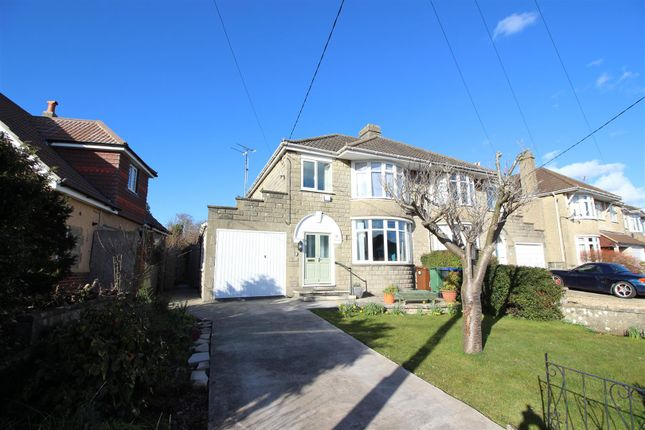 Thumbnail Semi-detached house for sale in East Yewstock Crescent, Chippenham