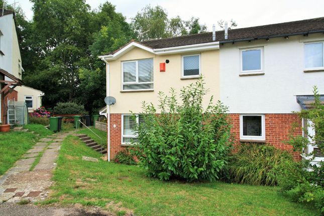 Thumbnail End terrace house to rent in Canberra Close, Exeter