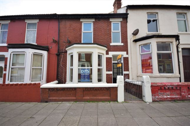 Thumbnail Terraced house to rent in Livingstone Road, Blackpool, Lancashire