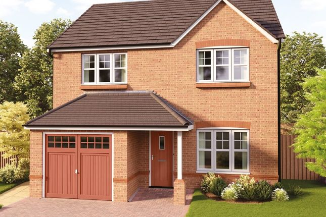 Thumbnail Detached house for sale in Plas Issa, Bryn Y Baal, Mold