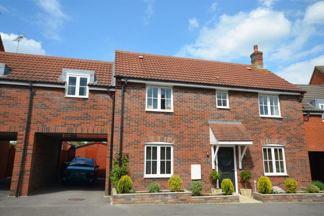 Thumbnail Link-detached house for sale in North Fields, Sturminster Newton