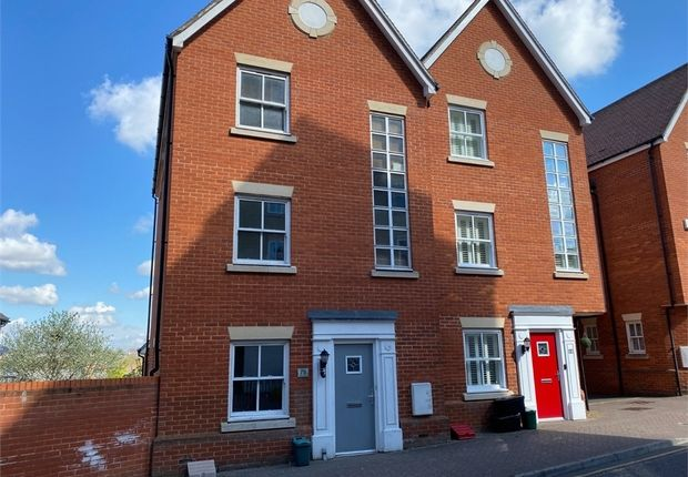 Thumbnail Town house for sale in St Marys Fields, Colchester, Essex