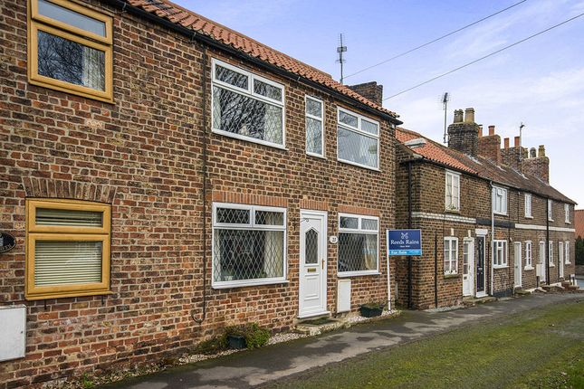 Thumbnail Terraced house for sale in The Green, Cranswick, Driffield