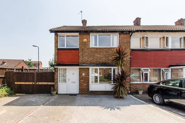 Thumbnail Semi-detached house for sale in Priestley Road, Mitcham