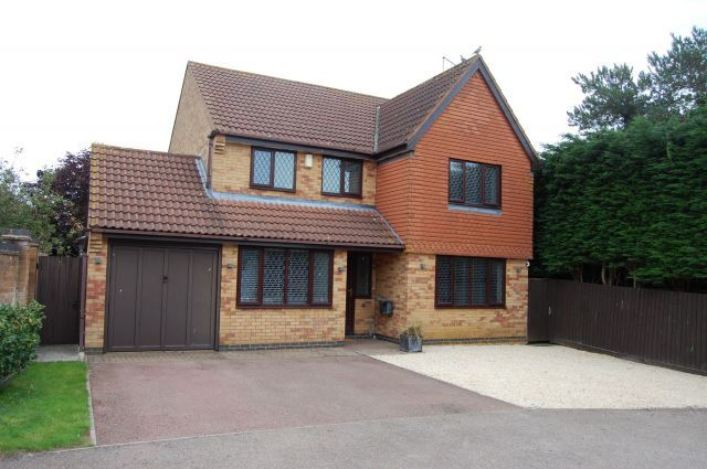 Thumbnail Detached house for sale in Muncaster Way, West Haddon, Northampton