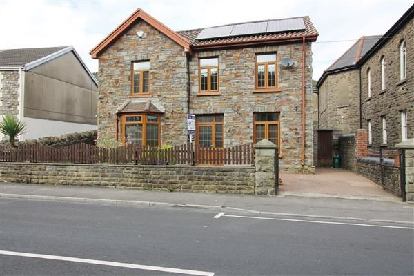 4 bed detached house for sale in Park Manse, Cwmparc, Treorchy