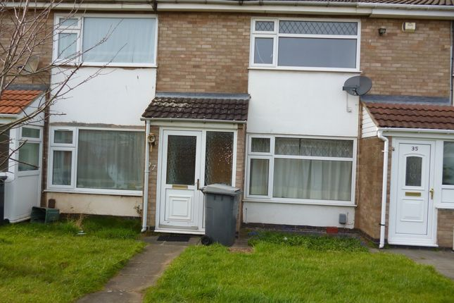 Thumbnail Town house to rent in Kincaple Road, Leicester