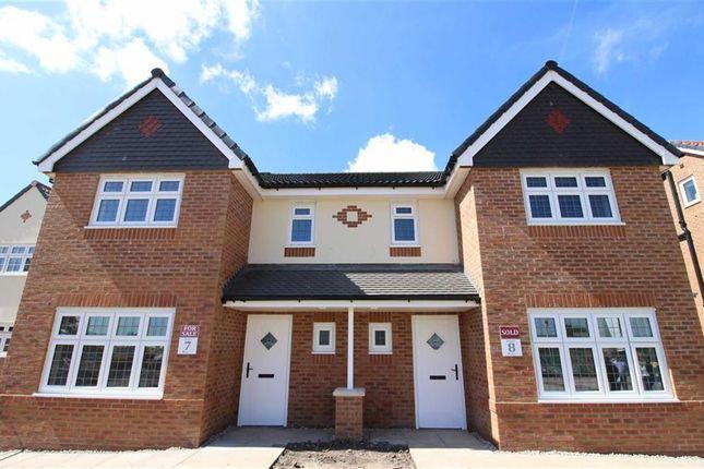Thumbnail Semi-detached house for sale in Burlingham Park, Garstang, Preston