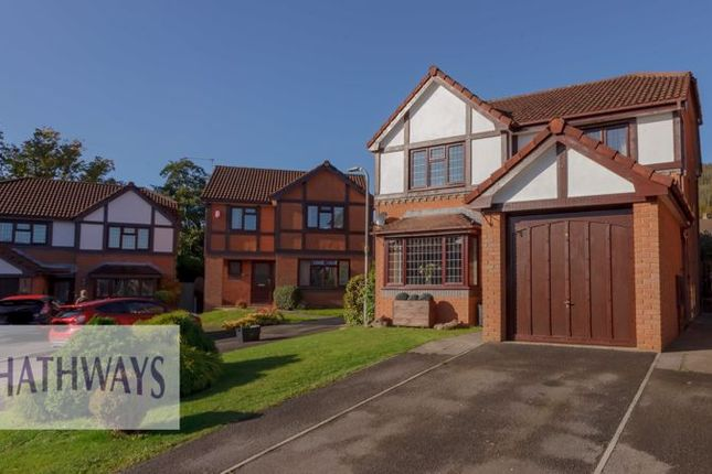Thumbnail Detached house for sale in Gelli Fawr Court, Henllys, Cwmbran