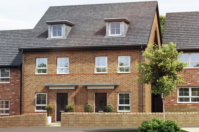 """Thumbnail Semi-detached house for sale in """"Kingsville"""" at Woodcock Square, Mickleover, Derby"""