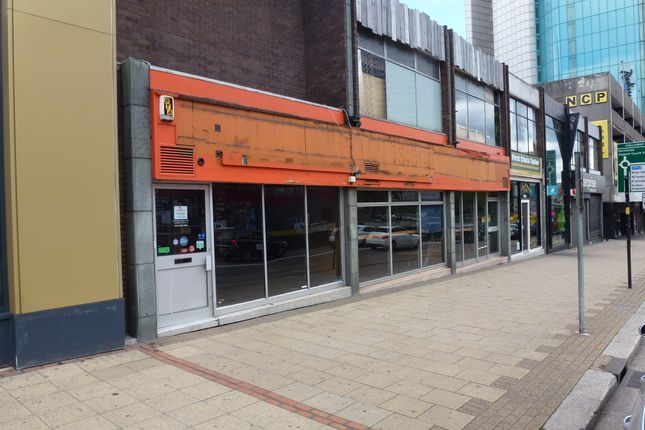 Thumbnail Retail premises to let in Suffolk Street Queensway, Birmingham