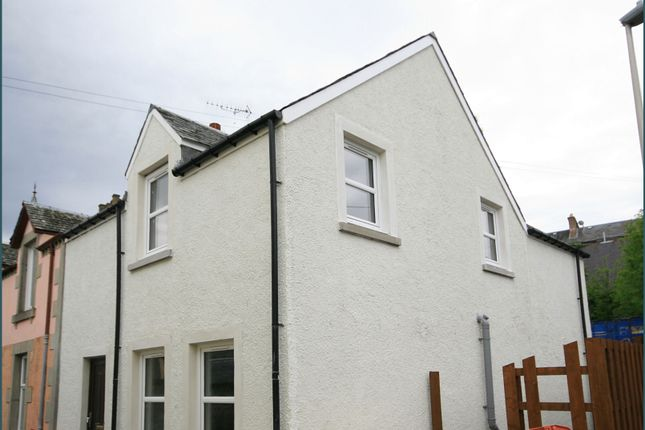 Thumbnail End terrace house to rent in Bank Street, Crieff