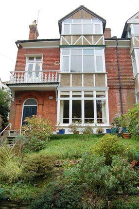 Thumbnail Maisonette for sale in Lower Park Road, Hastings