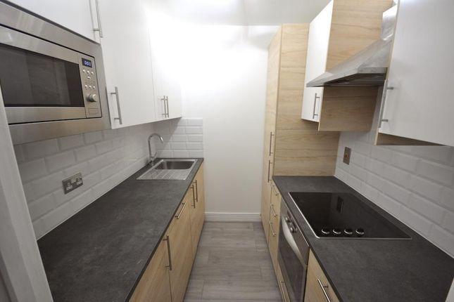 Kitchen of Gerry Ruffles Square, Stafford, London, London E15