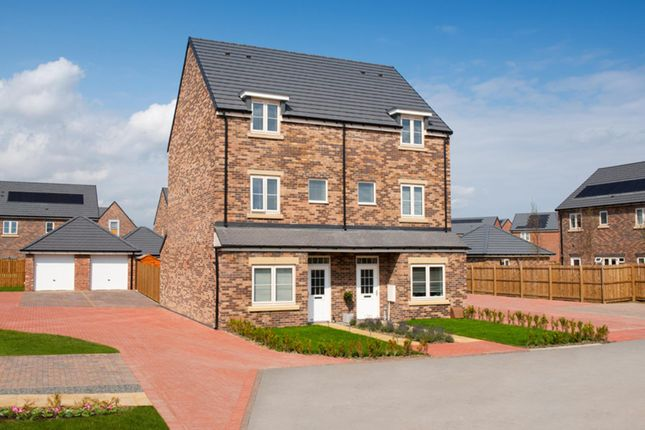 "Thumbnail Terraced house for sale in ""Hackworth"" at Whitworth Park Drive, Houghton Le Spring"