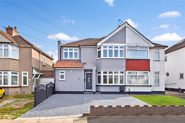 Thumbnail Semi-detached house for sale in Crofton Avenue, Bexley, Kent