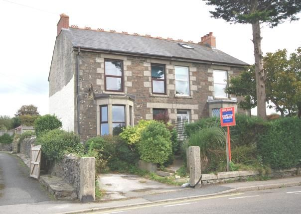 Thumbnail Semi-detached house for sale in Redruth, Cornwall