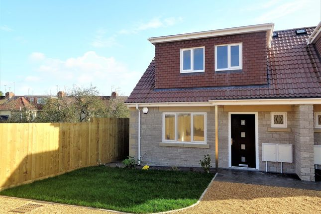 Thumbnail Semi-detached bungalow for sale in Alexandra Gardens, Staple Hill, Bristol