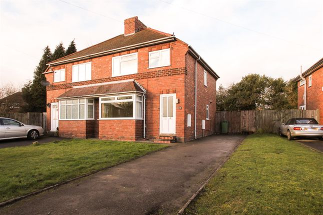 Thumbnail Semi-detached house to rent in School Crescent, Norton Canes, Cannock