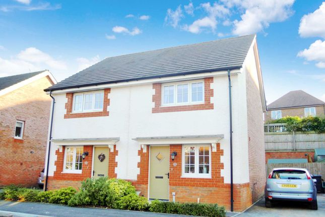 Thumbnail Semi-detached house for sale in Clover Way, Newton Abbot