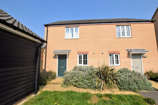 Thumbnail Semi-detached house to rent in Ascot Close, Bourne