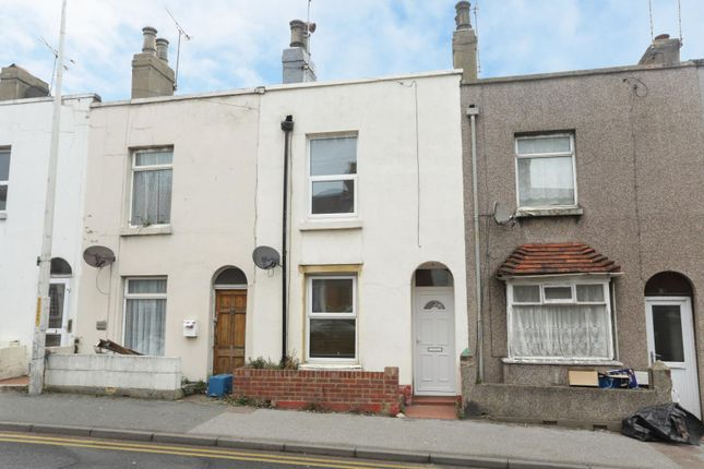 Thumbnail Terraced house for sale in Boundary Road, Ramsgate