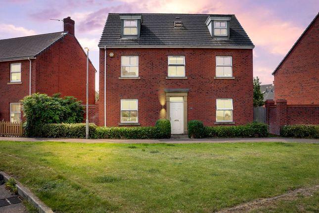 Thumbnail Detached house for sale in Rowan Close, Desborough, Kettering