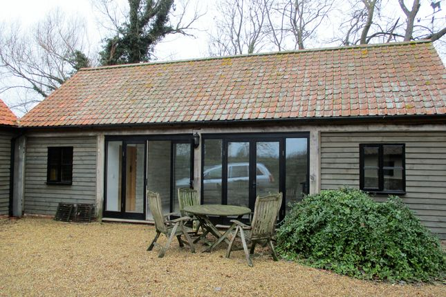 Thumbnail Detached house to rent in Wymondham Road, Bunwell, Norwich