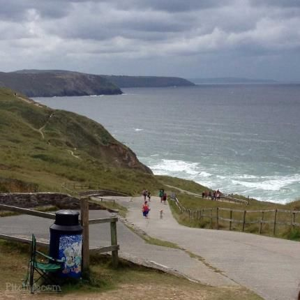 Access To Beach of Perran Sands, Perranporth, Cornwall TR6