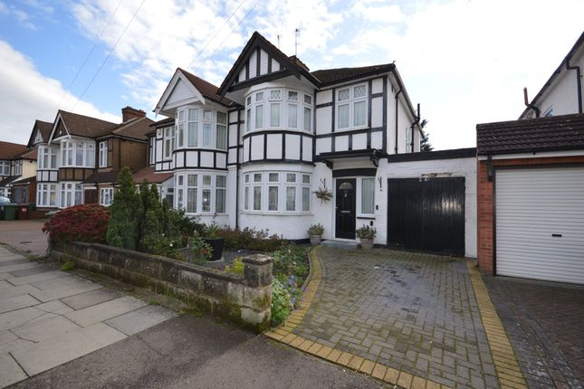 Thumbnail Semi-detached house for sale in Hunters Grove, Kenton, Harrow, Middlesex