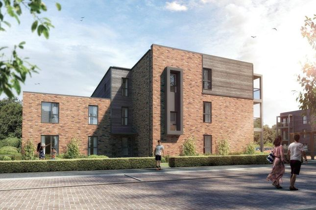 Thumbnail Flat for sale in Stockholm Chase, Broughton, Milton Keynes