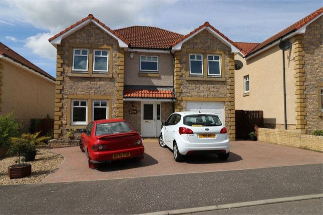Thumbnail Detached house for sale in Fernlea Drive, Windygates, Fife