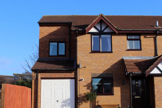 Thumbnail Semi-detached house for sale in Shamfields Road, Spilsby, Lincolnshire
