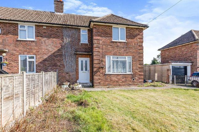 2 bed semi-detached house for sale in Leys Lane, Attleborough NR17